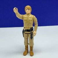 Star Wars action figure toy vintage 1980 Kenner Bespin Luke Skywalker brown hair