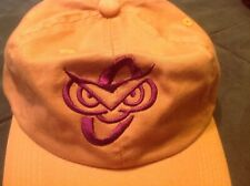 Yellow Hat with stylized Owl embroidered