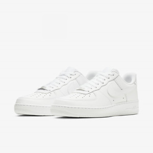 NK Air Force 1 '07 Uomo Donna Bianche Scarpe Sneakers Sportive Basse 315122-111