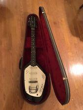Vintage 1960's VOX Black Phantom XII 12 String Electric Guitar w/OHC Tom Petty