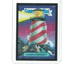 2014 TOPPS SERIES 2 GARBAGE PAIL KIDS GUIDING DWIGHT BLACK PARALLEL #84A
