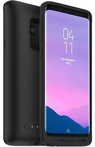 Mophie Juice Pack Qi Wireless Charging Battery Case For Samsung Galaxy S9 Black