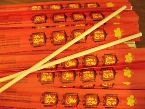8 Sets of Brand New Bamboo 💕Chopsticks or Skewers~Happy Eating!