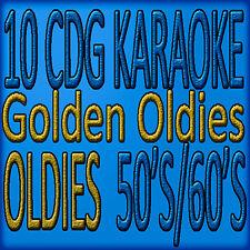 Classics Oldies 50's /60's 10 New Disc Set Karaoke cd+g Sweet Georgia Brown