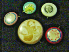 Collection Of 5 Pin Buttons