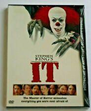 Stephen King's It DVD.  Snapcase BRAND NEW SEALED!!!