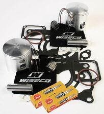 65mm Pistons Top End Gaskets Spark Plug Yamaha YFZ350 Banshee 1987-2006