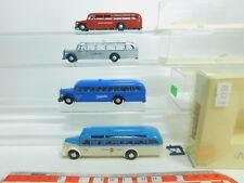 BO863-1 #4x Brekina H0 / 1:87 Bus MB: Silbervogel + 50021 Hohner + Db + 5030