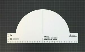 Official Avery Dennison Premier League Nameset Protractor Adult Straight/Curved