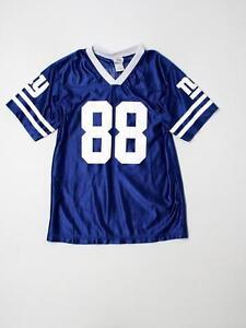 Boy Youth New York Giants #88 Hakeem Nicks Football Jersey Size XL 16/18