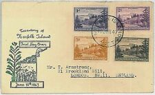 NORTHFOLK -  POSTAL HISTORY : FDC COVER 1947