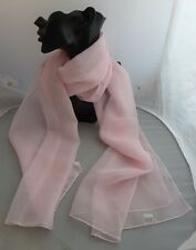 Pretty Baby Pink Long  Scarf/ Pussy Bow  BNWT Free UK P&P