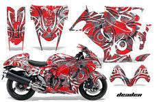 Amr Racing Graphic Kit Suzuki GSXR 1300 Hayabusa GSX Busa Bike Decal Wrap DEAD R
