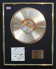 LED ZEPPELIN III CD GOLD DISC RECORD DISPLAY FREE P&P