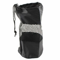 Outdoor Exercise Gym Fitness Yoga Pilates Mat Mesh Carrier Bag Black