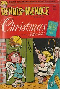 Fawcett Comics  Dennis The Menace Christmas Special 1970 Bonus Magazine Series