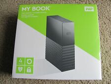 WD My Book 4TB Desktop External Hard Drive - USB 3.0/2.0 - WDBBGB0040HBK-NESN