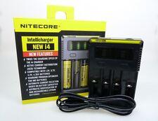 Nitecore Intellicharger NEW i4 Ladegerät für Li-Ion NiCd NiMH Akkus