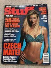 Maxim Stuff for Men Magazine Vol #2 1999 Daniela Pestova Cover