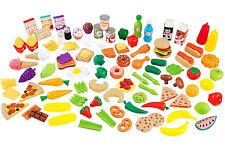 KidKraft 115 Pieces Tasty Treats Pretend Play Food Set For Kids 63330 New