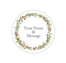 "2"" PERSONALIZED CUSTOM STICKERS LABELS BABY SHOWER WEDDING GRADUATION #8P"