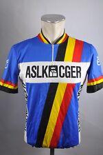 ASLK CGER vintage bicicleta Cycling Jersey bike rueda camiseta talla M 53cm b9
