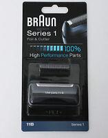 BRAUN Mens Shaver 11B Foil & Cutter Series 1 High Performance Replacement  noo