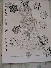 "Winter Wizard-Judi Ward 22"" Unique Cloth Art Doll pattern *Rare & Oop 1999"