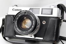 Canon Canonet QL19 35mm Rangefinder Film Camera Body w/45mm f/1.9 Lens #805
