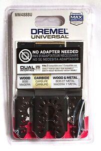 Dremel Multi-Max Oscillating Tool Universal Flush Cut Blade Variety Pack MM488BU