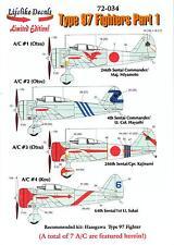 "Lifelike Decals 1/72 NAKAJIMA Ki-27 TYPE 97 FIGHTER ""NATE"" Part 1"