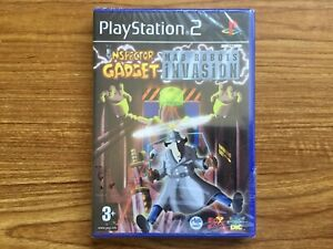 Inspector Gadget Mad Robots Invasion (PS2) Brand New Sealed pal