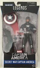 "CAPTAIN AMERICA Secret War MARVEL LEGENDS Wave 3 2016 6"" INCH Action FIGURE"