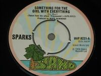 """Sparks:  Something for the girl with everything    UK  7""""   EX"""