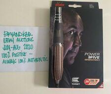 Phil Taylor Target 95% Power 9Five Gen 5 Tungsten Darts 26gram Black US seller