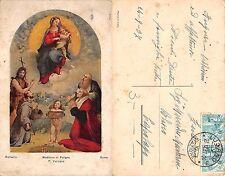 Roma - Raffaello - P. Vaticana - Madonna di Foligno ANNO 1937 (A-L 138)