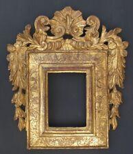 Barock Blattrahmen, um 1700, geschnitzt, vergoldet