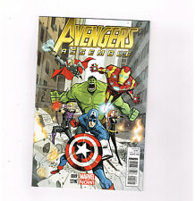 AVENGERS ASSEMBLE #9 Limited to 1 for 25 variant by John Rubio! NM