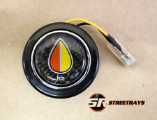 NRG Steering Wheel Center Horn Button Carbon Fiber w/ JDM Elderly Driver Logo