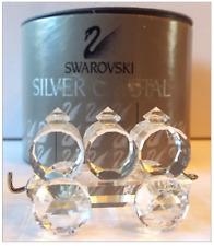 Swarovski Silver Crystal 015151 Train Petrol Wagon 7471 000 004 New