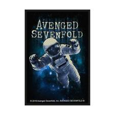 OFFICIAL LICENSED - AVENGED SEVENFOLD - THE STAGE WOVEN SEW-ON PATCH A7X METAL
