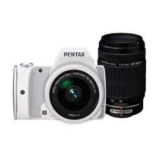Near Mint! Pentax K-S1 with DA L 18-55mm & DA L 55-300mm White - 1 year warranty
