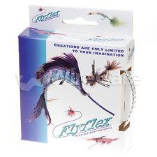 "Jan0.25Sv - Flyflex Pack, 1/4"" Silver Pet"