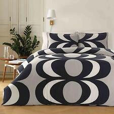 NEW Marimekko Kaivo Twin Gray & Black Comforter Set *Retired