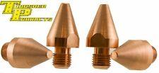 2 Pr  Spot Welder STD Tips 476-040211 for Miller-TT-6, TT-9 and G7 Welding-Tongs