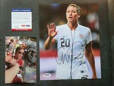 Abby Wambach Hot! signed US World Cup 8x10 photo PSA/DNA cert PROOF!!