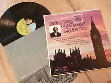 "FRANK SINATRA 1ST PRESS RARE LP-"" GREAT SONGS FROM GREAT BRITAIN "" -R1006"