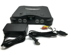 N64 Console Nintendo 64 Console + Region Unlocked Plays US & Japanese