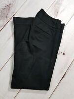 "Banana Republic Women's Black Sloan Fit Boot Cut Pants Size 6 Inseam 28"""