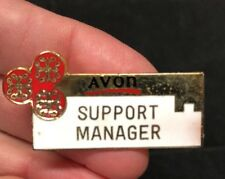 Vintage Avon Support Manager Pin Lapel Pin